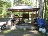 Camp Kitchen, fridge, sink, and BBQ